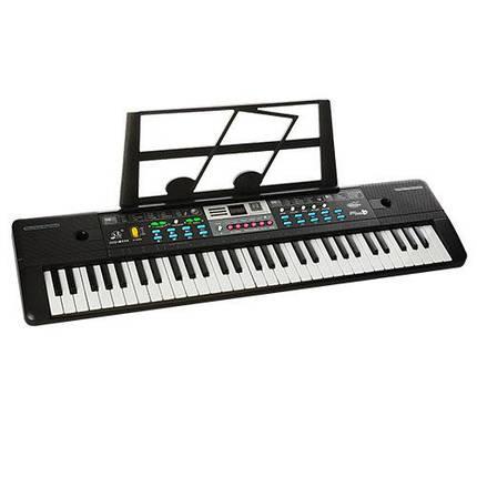 Синтезатор музыкальный (MQ6111-12) микрофон, 61 клавиша., фото 2