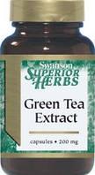 Экстракт зеленого чая / Green Tea Extract, 500 мг 120 капсул, фото 1
