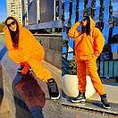 Яркий женский спортивный костюм : удлиненное худи и штаны в больших размерах 41spt1127, фото 5