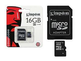 Карти пам'яті microSD Kingston 16 Гб