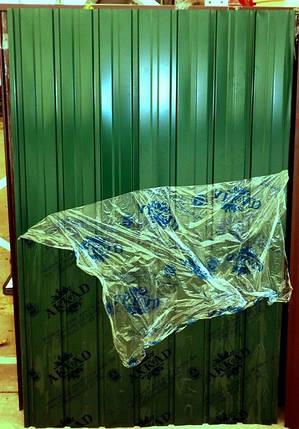 Профнастил ПС-10 зеленый, 2м, ширина 95 см., фото 2