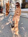 Теплый вязаный костюм - двойка из удлиненного свитера с горлом и брюк (р.р 42 - 46) 36kos1442, фото 7