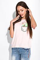 Футболка женская с принтом Авокадо 151P24 (Розовый), фото 1