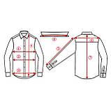 Мужские рубашки в клетку красно-черные с длинным рукавом, рубашка флисовая на кнопках, фото 2
