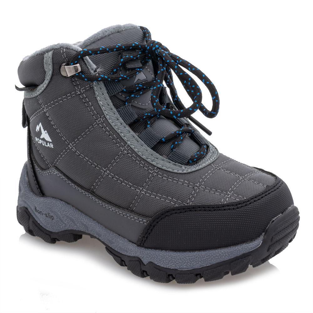 Ботинки зимние для мальчиков Jong golf 28  серые 981251