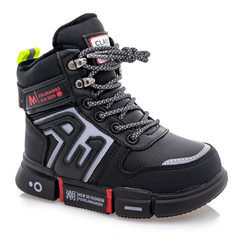 Ботинки зимние для мальчиков Jong golf 28  черные 981252