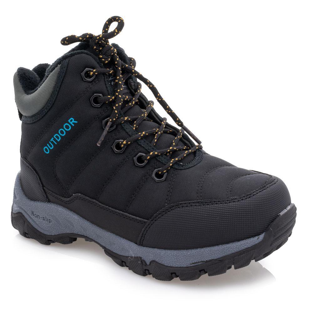 Ботинки зимние для мальчиков Jong golf 33  черные 981254