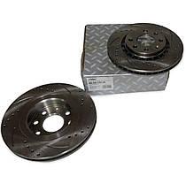 Диск гальмівний передній Ланос спорт 1.6 (R14) RIDER, RD.96179110
