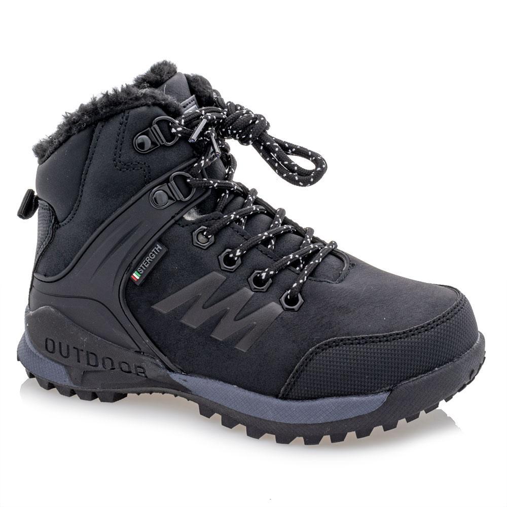 Ботинки зимние для мальчиков Jong golf 33  черные 981258