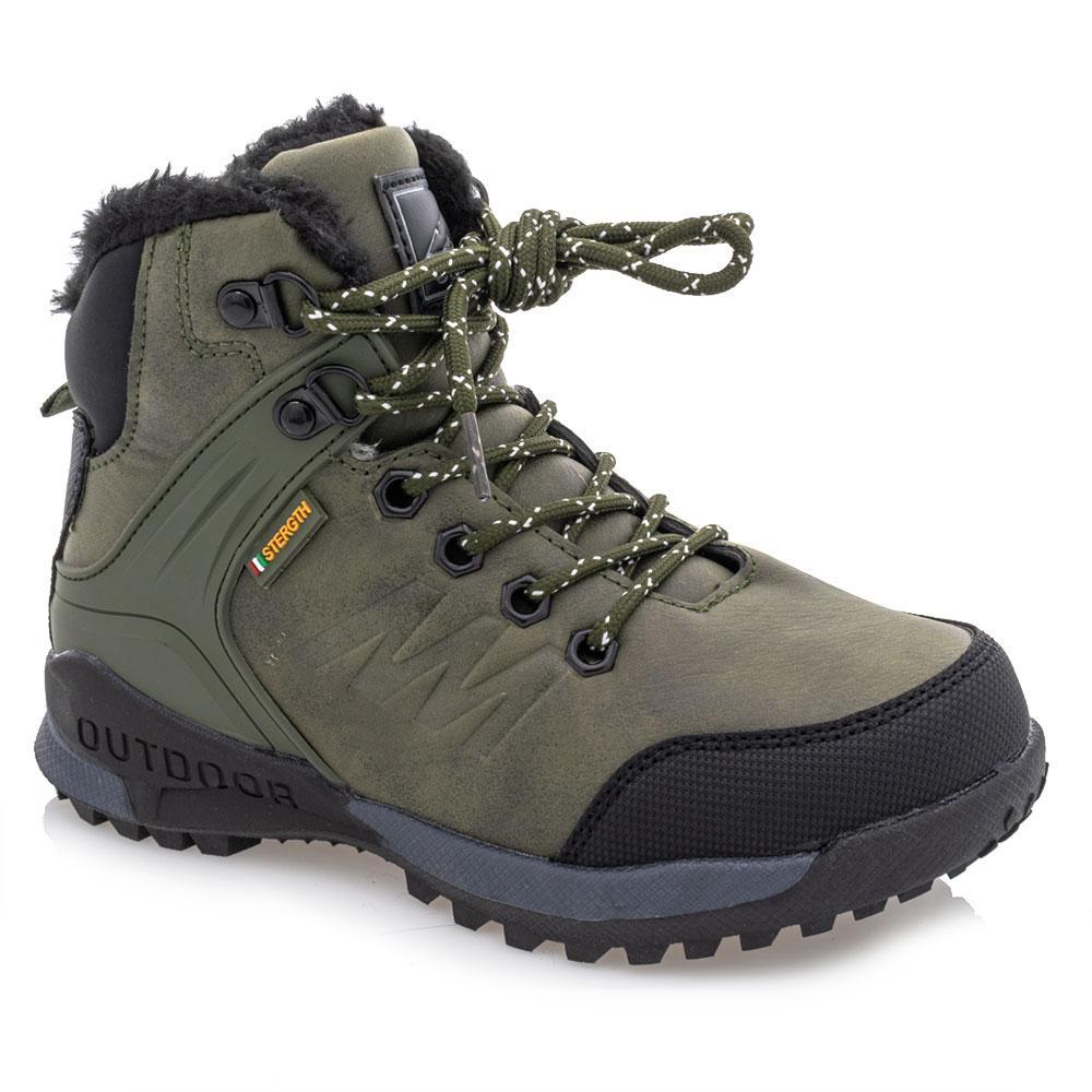 Ботинки зимние для мальчиков Jong golf 32  хаки 981258