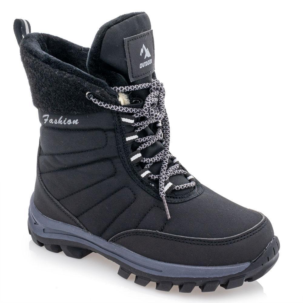 Ботинки зимние для мальчиков Jong golf 32  черные 981261
