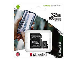 Карти пам'яті microSD Kingston 32 Гб