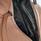 Сумка женская коричневая Tomfrie 11775, фото 7