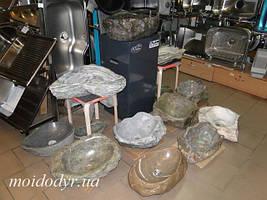 Умивальники з натурального каменю