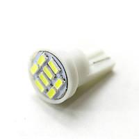 LED Galaxy T10 ( W5W ) SAMSUNG 3014 8SMD White (Белый), фото 1