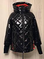 Женская куртка весенняя стёганая Лаура