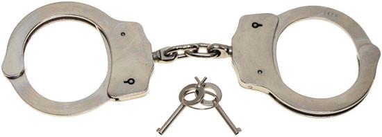 Наручники Max Fuchs с 2 ключами Deluxe   29403