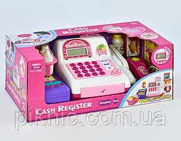 Игрушечная детская касса со сканером, звук, свет, на батарейках