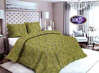 Комплект постельного белья Сатин №с33  Полуторный размер 150х215 см., фото 1