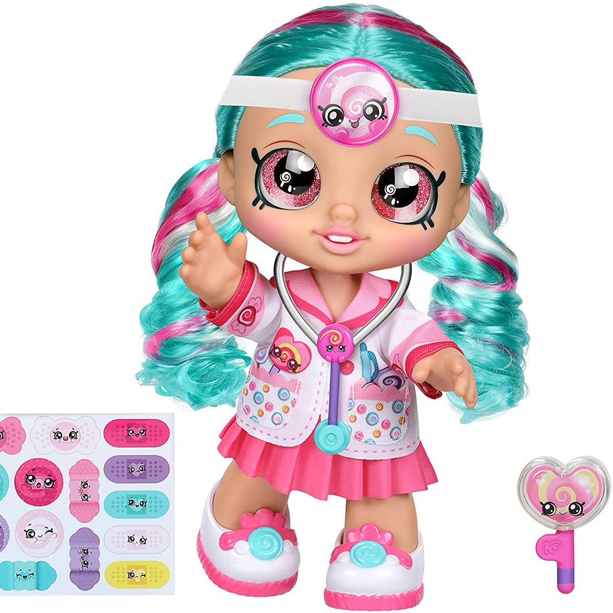 Кукла Кинди Кидс доктор Синди Попс от Moose Kindi Kids Cindy Pops 50036