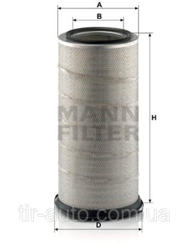 Фильтр воздушный VOLVO FL 10, FL 7 ( MANN ) C 261220