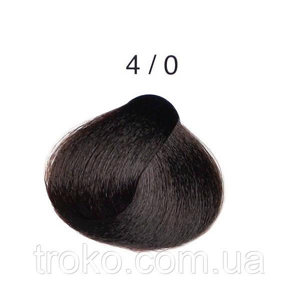 4/0 - Каштановый Перманентная крем-краска для волос Alter Ego Techno Fruit 100 мл