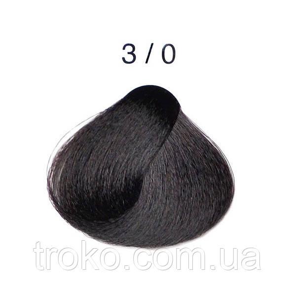 3/0 - Тёмно-каштановый Перманентная крем-краска для волос Alter Ego Techno Fruit 100 мл