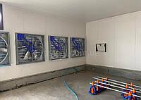 Птичник «под ключ» - фундамент, каркас, обшивка стен и кровли, топинговый пол, оборудование, вентиляция.