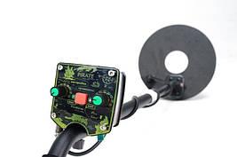 Металлоискатель Пират Li-ion аккумулятор, глубина поиска до 2 м. Новинка 2020! Металлодетектор, Металошукач, фото 2
