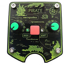 Металлоискатель Пират Li-ion аккумулятор, глубина поиска до 2 м. Новинка 2020! Металлодетектор, Металошукач, фото 3