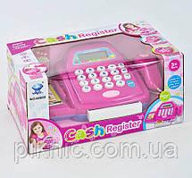 Игрушечный детский кассовый аппарат, магазин для детей, звук, свет Подарок для девочки