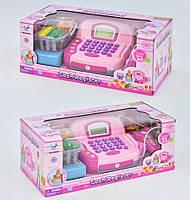 Детский кассовый аппарат + микрофон, звук, свет Подарок для девочки