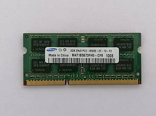 Оперативная память (DDR3 2GB) - SAMSUNG 2GB PC3-8500S-07-10-F2, фото 2