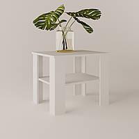 Журнальный стол ЖС-2 ДСП Белый 60x45x54 см
