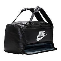 Сумка тренировочная спортивная Nike Brasilia Medium 60L BA6395-010 Черный, фото 2