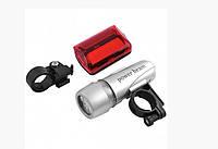 Велосипедный фонарь с габаритом 587-5LED