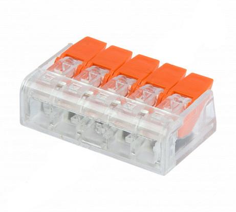 ElectroHouse Коннектор на пять контактов (450В, 32А) самозажимный
