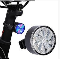 Велосипедный фонарь AQY-0113 задний габаритный цветной