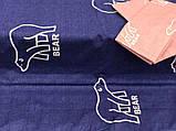 Комплект постельного белья Гризли, Бязь Gold. Полуторное, Двухспальное, Евро, Семейное, фото 3