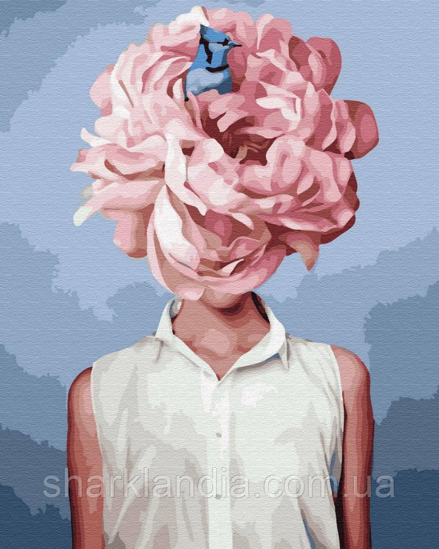 Картина по Номерам Эми Джадд Бабочки в моей голове 40х50см BrushMe