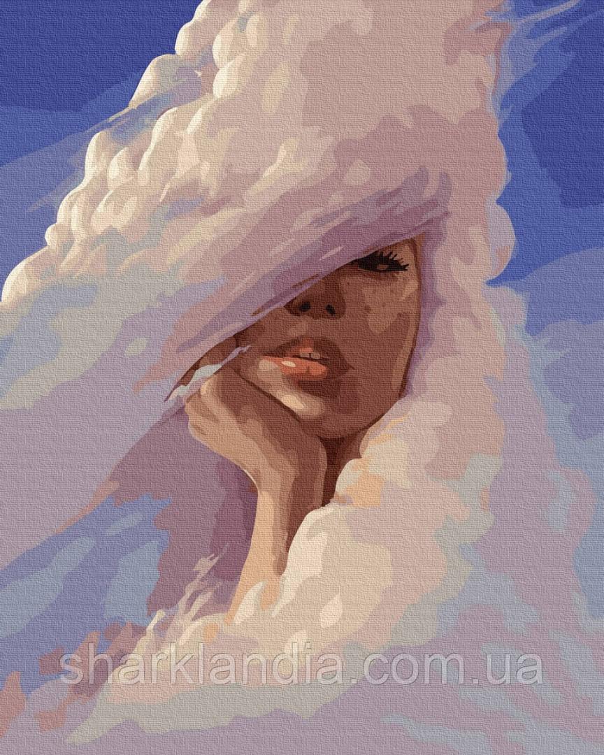 Картина по Номерам Облачная дама 40х50см BrushMe