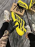 Мужские кроссовки Adidas Yeezy Boost 700 V3 Yellow Black, кроссовки адидас изи 700, кросівки Adidas Yeezy 700, фото 4