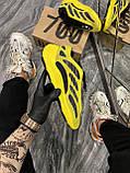Мужские кроссовки Adidas Yeezy Boost 700 V3 Yellow Black, кроссовки адидас изи 700, кросівки Adidas Yeezy 700, фото 2