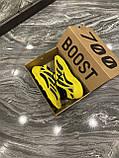 Мужские кроссовки Adidas Yeezy Boost 700 V3 Yellow Black, кроссовки адидас изи 700, кросівки Adidas Yeezy 700, фото 9