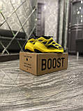 Мужские кроссовки Adidas Yeezy Boost 700 V3 Yellow Black, кроссовки адидас изи 700, кросівки Adidas Yeezy 700, фото 8