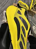 Мужские кроссовки Adidas Yeezy Boost 700 V3 Yellow Black, кроссовки адидас изи 700, кросівки Adidas Yeezy 700, фото 5
