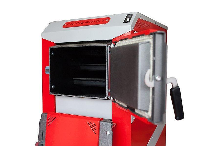 Котел длительного горения TatraMet Uni 40 кВт (сталь 6 мм)