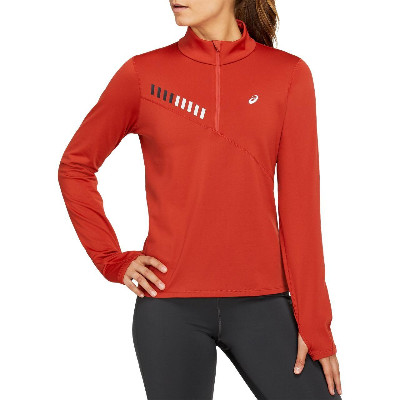 Куртка для бега Asics Lite-Show Winter 1/2 Zip Top W 2012B051-601