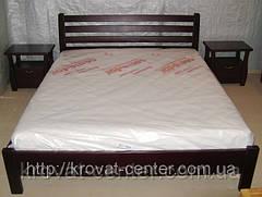 """Односпальне ліжко """"Масу"""" з масиву дерева вільха, фото 3"""