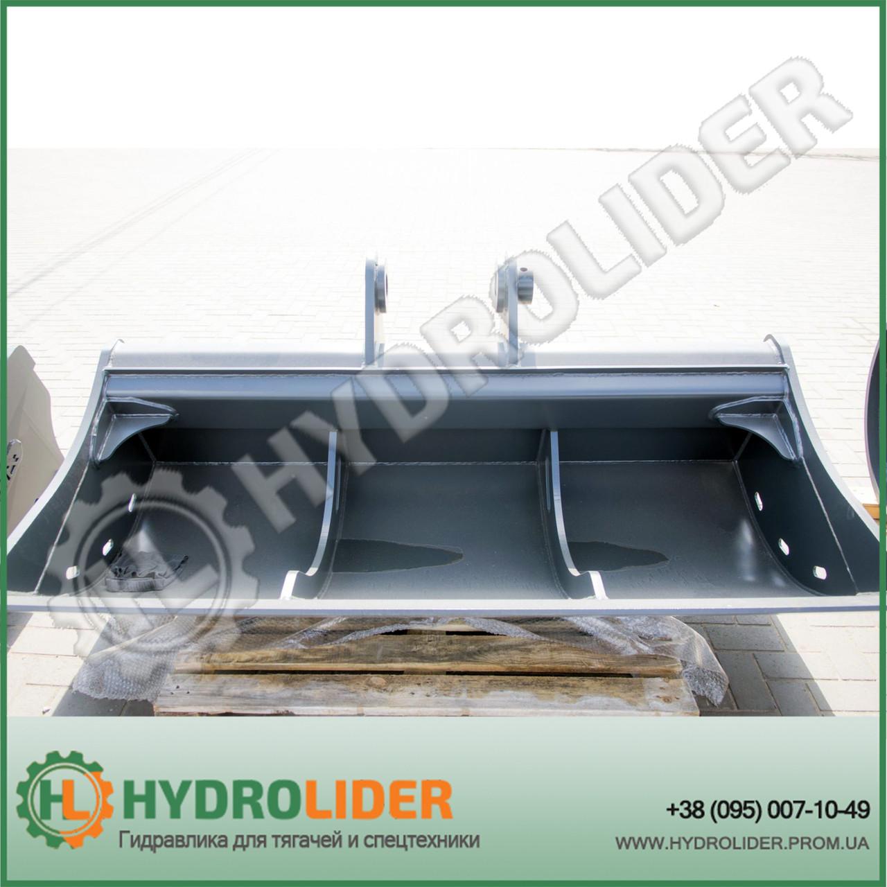 Планировочный ковш А.ТОМА на экскаватор Hyundai 210W9S